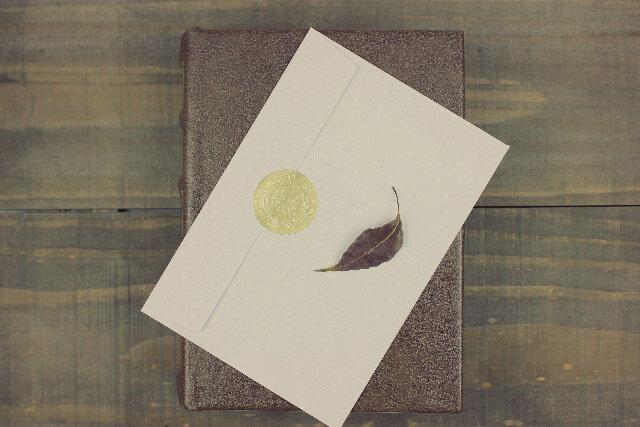 招待状封筒