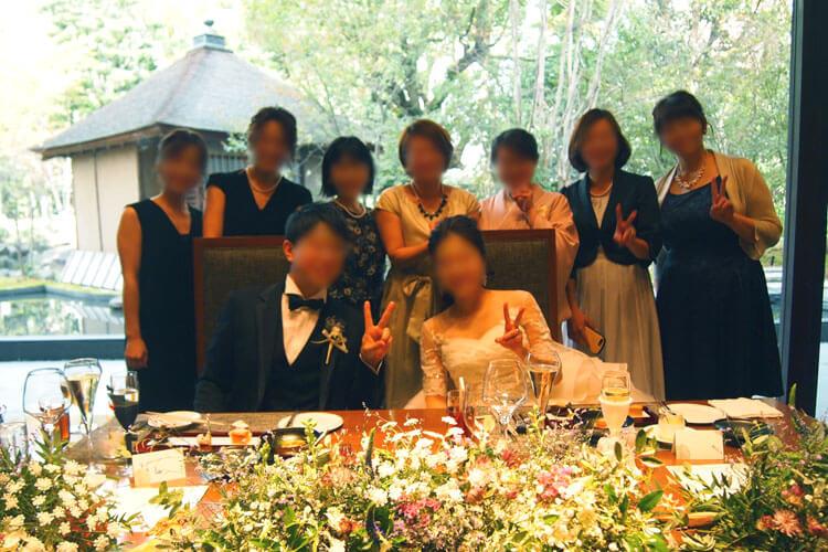 太閤園の結婚式費用