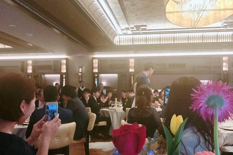 ホテル鐘山苑の結婚式口コミ