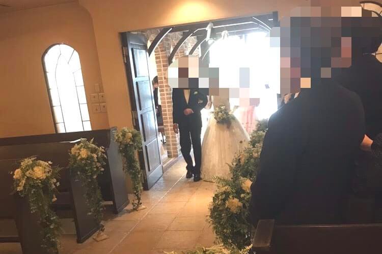アンジェパティオの結婚式口コミ