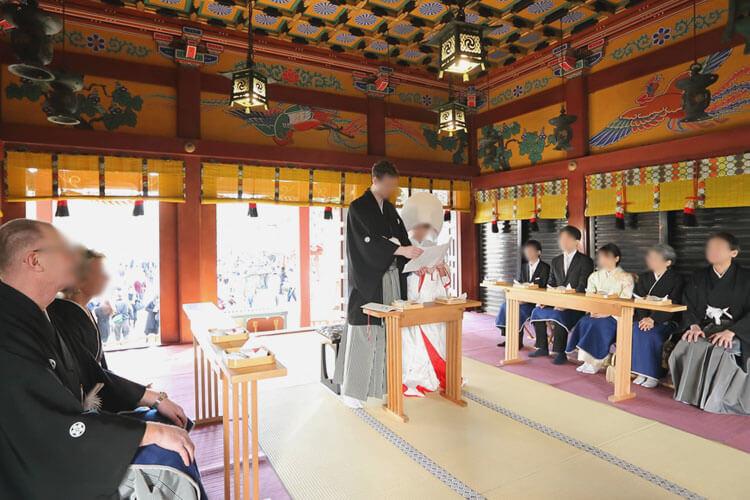 浅草神社・浅草ビューホテルの結婚式口コミ